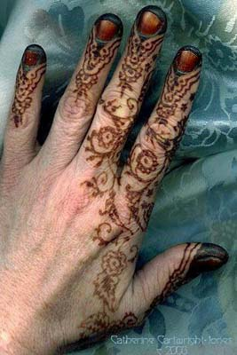The Henna Page The Encyclopedia Of Henna Henna And Fingernails