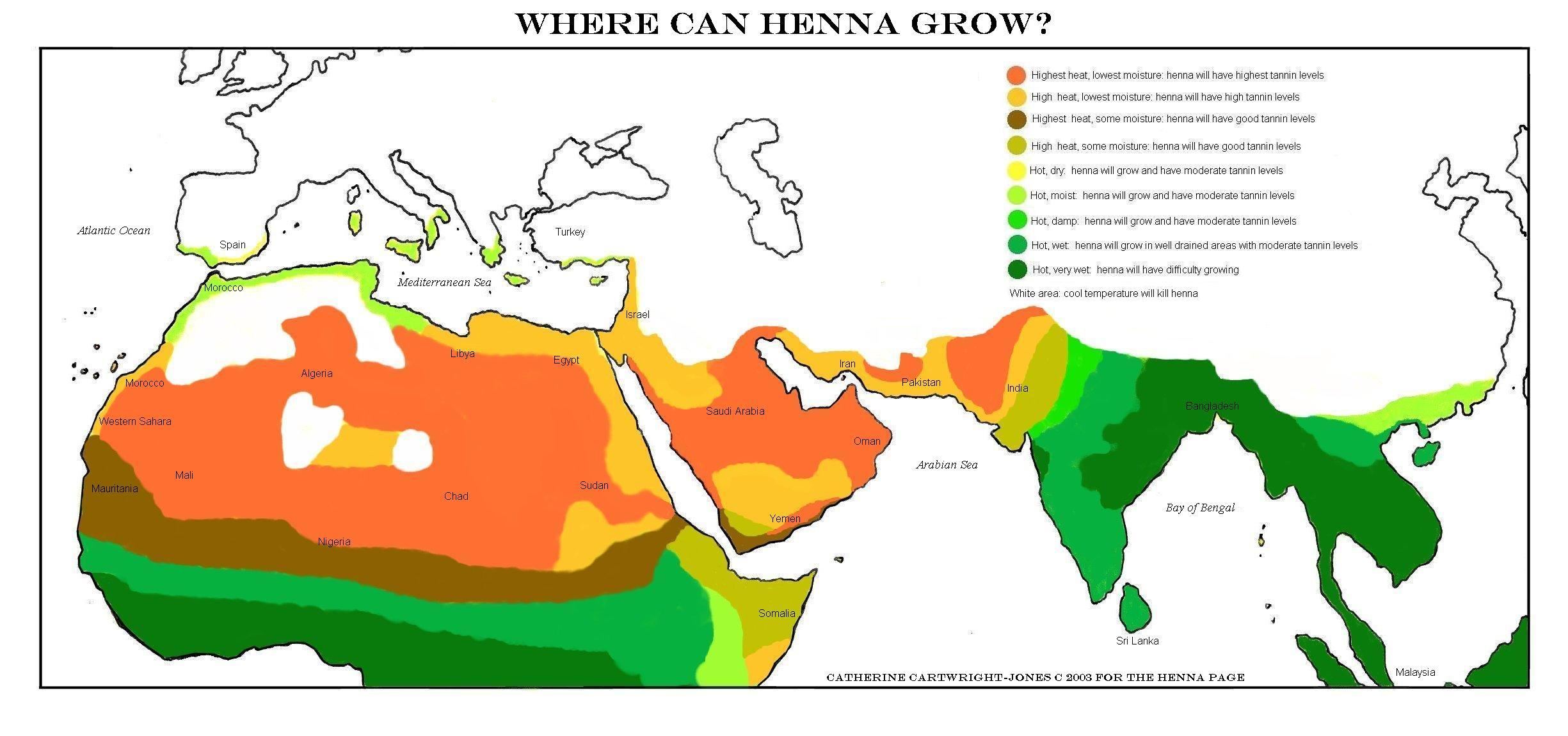 The Henna Page The Encyclopedia Of Henna