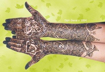 The Henna Page The Encyclopedia Of Henna Indian Contemporary