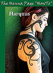 Harquus, a SAFE black temporary tattoo