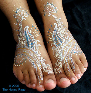 The Henna Page Gilding And Gem Work Beautiful Innovations In