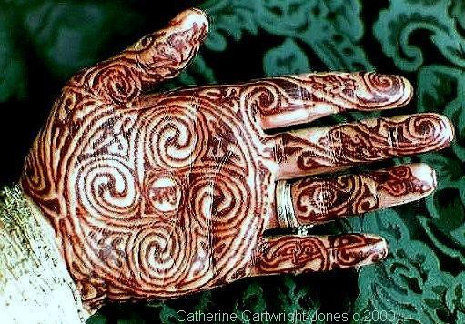 Mehndi Henna Lemon : The henna page how to wrap for darker colors