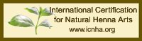 International Certification for Natural Henna Arts