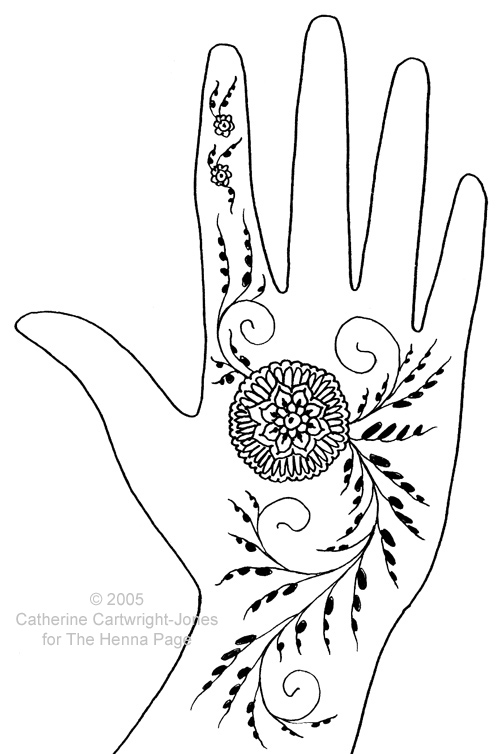Go back to the Index of Henna Pattern Elements