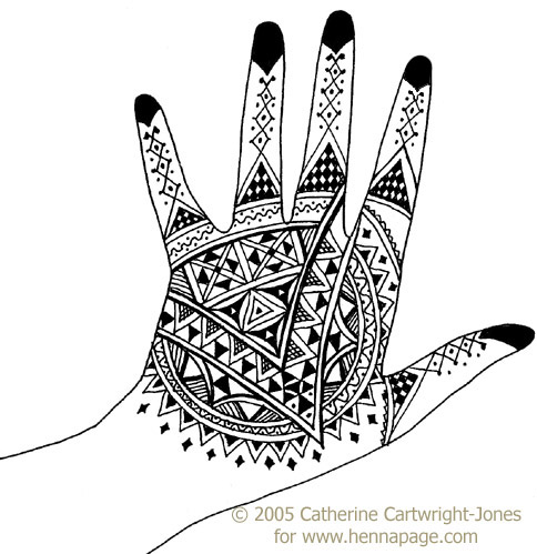 Henna artists from Morocco and other North African countries have many
