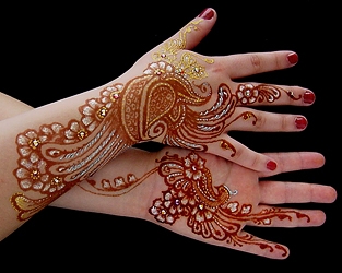 The Henna Page White Henna What It Is And How To Use It From The